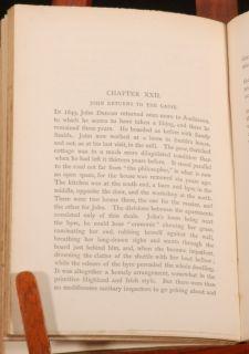 1883 Biography of John Duncan Weaver Botanist by Jolly