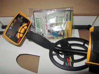 Garrett ACE 250 Metal Detector with Standard 6.5X9 coil , ace250 dvd