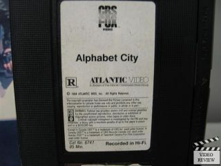 Alphabet City VHS Cincent Spano Michael Winslow Jami Gertz