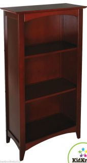 Cherry Wood Bookcase Book Shelf Nursery Bedroom Furniture 14031
