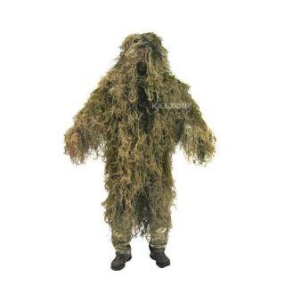 Ghillie Suit Poncho Desert Camo Universal Fit