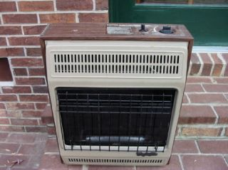 NATURAL GAS WALL HEATER COMFORT GLOW