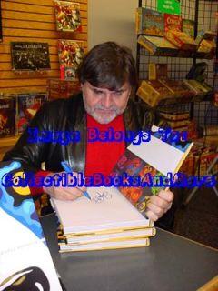 George Rodrigue Signed Art of George Rodrigue Blue Dog