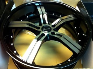 22 22x9 Gianelle Cancun Wheels Rims 5x120 Chevy Camaro