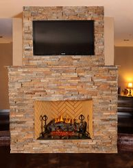 Full B Vent Propane or Natural Gas Fireplaces