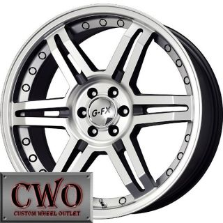18 Black G FX OR7 Wheels Rims 6x139 7 6 Lug Tahoe Escalade Yukon