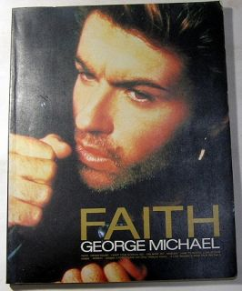 GEORGE MICHAEL FAITH BAND SCORE JAPAN BOOK