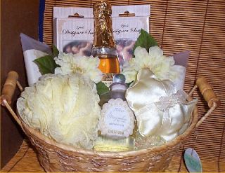 Angelic Gift Basket Bath Spa Holiday Gifts Lady Gift