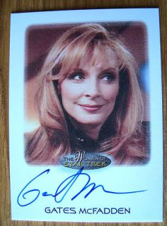 Women of Star Trek Autograph Gates McFadden