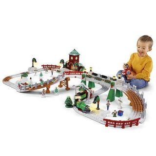 GeoTrax Christmas in Toytown RC Set Christmas Train Brand New NIB