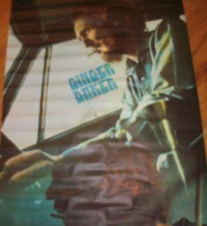 Ginger Baker Circa 1969 Poster