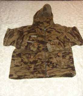 Columbia Gallatin Wool Jacket Coat Hunting Fishing Camo
