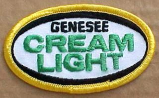 Genesee Cream Light Beer Patch Jacket Shirt New York