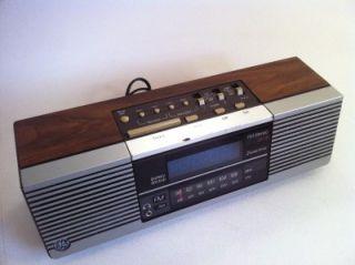 GE Digital Alarm CLOCK RADIO Blue Display General Electric #7 4945 A