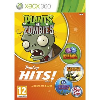 Pop Cap 2 Plants vs Zombies Zuma Feeding Fenzy 2 Heavy Weapons Xbox