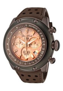 Glam Rock Watch GK1126 Mens Miami Chronograph Rose Gold Dial Brown