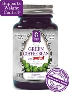 Pure Green Coffee Bean Extract with Svetol 45 Chlorogenic Acids CGA