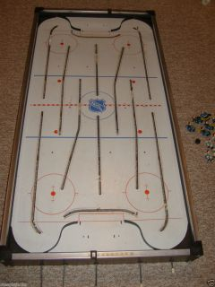 COLECO GAME ROOM TABLE HOCKEY GAME 1973 COMPLETE HARDWARE 3D MEN EAGLE