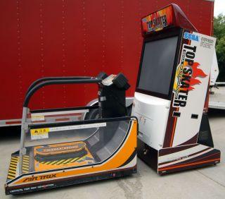 Arcade Game with 50 Mitsubishi Monitor & SEGA MODEL 2C CRX HARDWARE