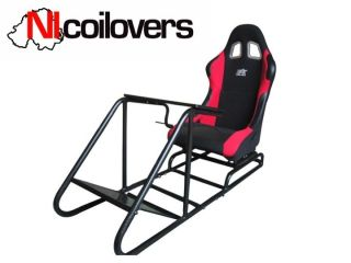 Gamer Racing Gaming Seat Simulator F1 WRC GT PS3 Xbox Red