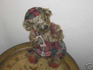 Ganz Cottage Collectibles Teddy Bear Robbie MWT
