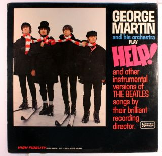 George Martin Help RARE Rock Pop Vinyl LP