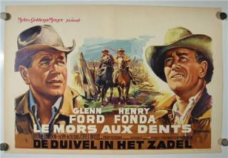 Henry Fonda Glenn Ford Great Image The Rounders Modern Western Movie