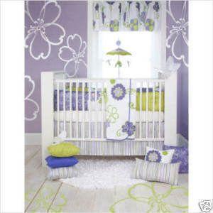 Glenna Jean Sweet Potato Lulu 4 Pc Baby Bedding New In Plastic Free