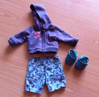 American Girl Clothes Authentic Skater Skateboard Outfit