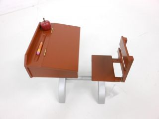 American Girl 18 Dolls 1930 Style School Desk Plus Accessories