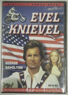 Evel Knievel DVD Movie Still SEALED George Hamilton Sue Lyon Bret