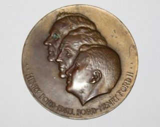 Vintage Henry Ford 50 Year Medal Commemorative Coin Ford Motor Company
