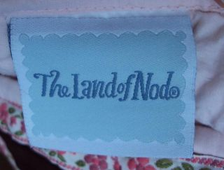 Land of Nod Hand Stitched Girl Horse Riding Embroidery Applique Quilt