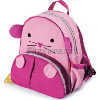 FE Girls Kids Backpack School Bag Zoo Animal Cute Lovely Canvas Lunch