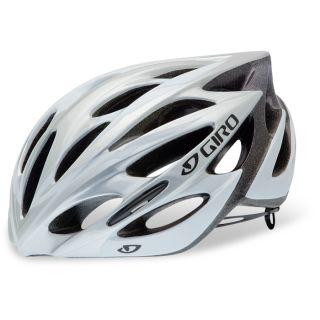 Giro Monza Silver White Large Helmet
