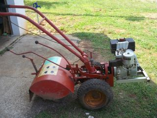 Troy Bilt Horse Garden Tiller with Tecumseh Industrial Motor Engine