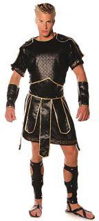 Spartan Roman Gladiator Hercules Deluxe Men Costume One Size