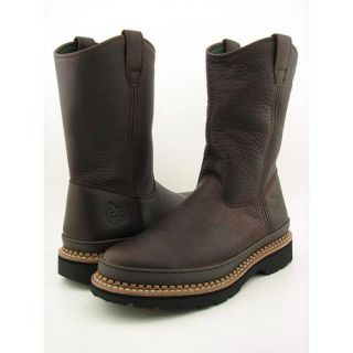 Georgia G4274 Wellington Giant Mens Size 11 Brown Boots Work Leather