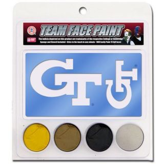 Georgia Tech Yellow Jackets Face Paint with Stencils