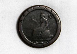 1797 Great Britain Copper Penny Britannia Georgius III