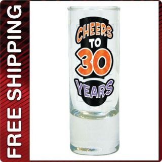 Years Shot Shooter Glass Drinking Drink Glass Birthday Gag Gift
