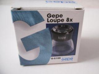 8x eye loupe gepe new nib usa seller