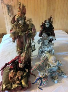 Kids Porcelain Dolls from Geppeddo Lot of 6 Dolls