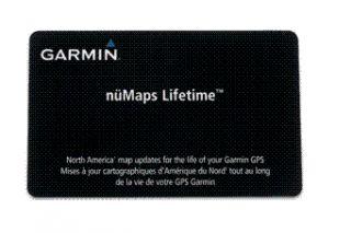 Garmin Numaps Lifetime Maps North American Map Update Card 010 11269