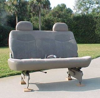 GMC Safari Astro Van New Third Row Complete Rear Seat Medium Neutral