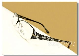 Metal Full Rim Eyeglass Frame Women Glasses RX D9643C New