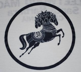 Vtg George Harrison Darkhorse Records Fleetwood Mac T Shirt 1975 S