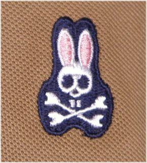 Psycho Bunny Robert Godley Mens Pima Polo Shirt Size 9 3XL New Mocha