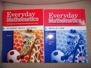 Mathematics Skills Link and Student Math Journal Grade 1 McGraw Hill