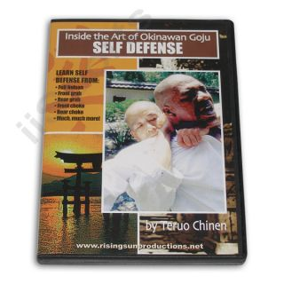 Okinawan Goju Ryu Karate Self Defense DVD Teruo Chinen Bunkai Oyo